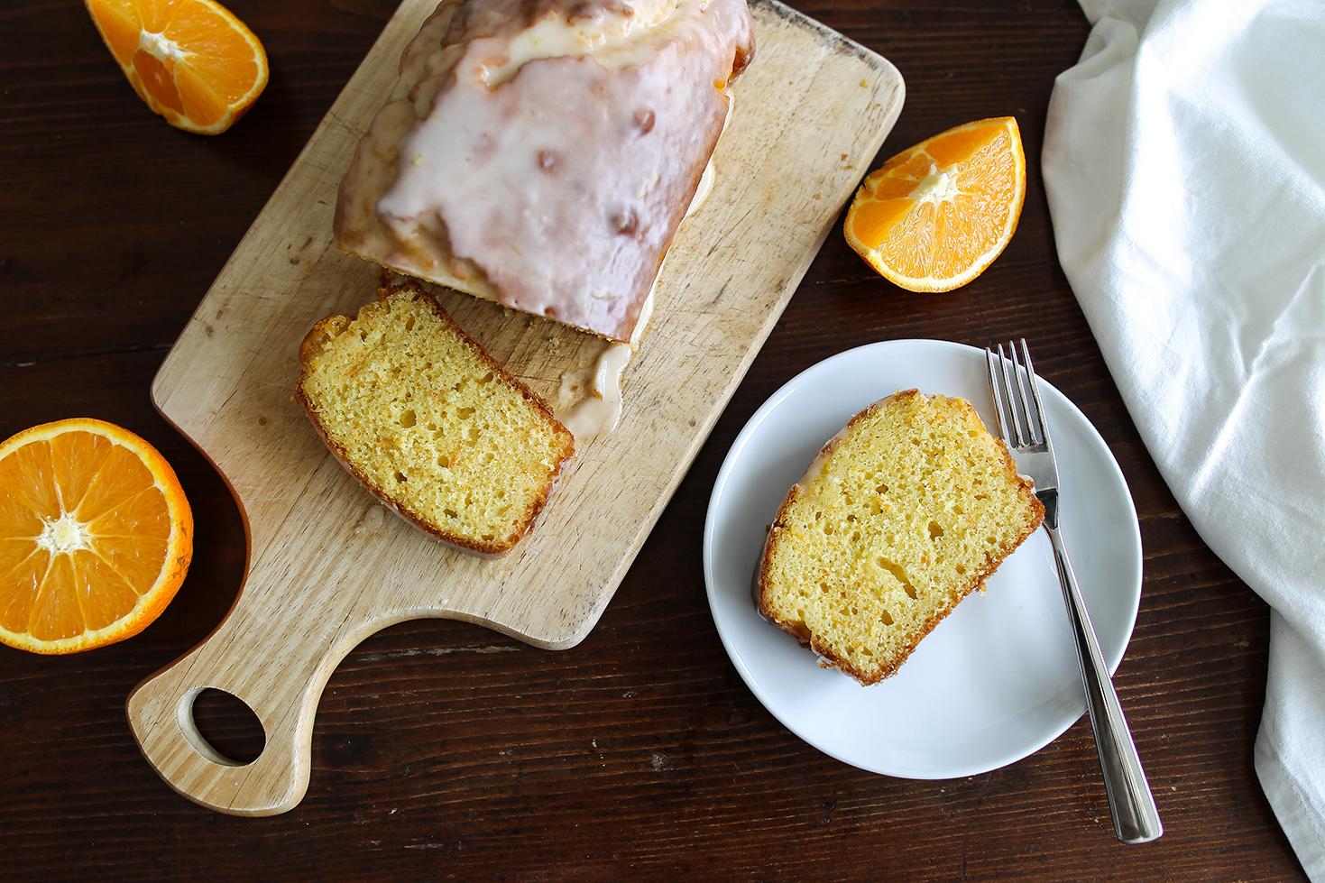 Orange and yoghurt cake